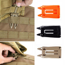 5 Pcs Molle Strap EDC Outdoor Hiking Backpack Bag Webbing Connecting Buckle Clip