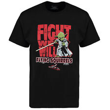 Richmond Flying Squirrels Black Star Wars Fight We Will T-Shirt