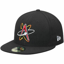 New Era Albuquerque Isotopes Black Home Authentic Collection 59FIFTY Fitted Hat