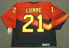 JYRKI LUMME Vancouver Canucks 1995 CCM Vintage Throwback NHL Hockey Jersey