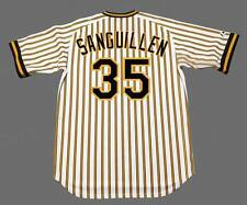 MANNY SANGUILLEN Pittsburgh Pirates 1978 Majestic Cooperstown Baseball Jersey