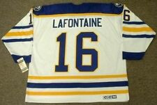PAT LAFONTAINE Buffalo Sabres 1992 CCM Vintage Throwback Home NHL Hockey Jersey