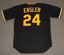 MIKE EASLER Pittsburgh Pirates 1982 Majestic Cooperstown Baseball Jersey