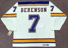 RED BERENSON St. Louis Blues 1967 CCM Vintage Throwback Away NHL Hockey Jersey