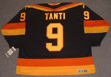 TONY TANTI Vancouver Canucks 1987 CCM Vintage Throwback Away NHL Hockey Jersey