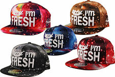 K I Headwear  Snapback SORRY I'M FRESH Abstract Space Snap Back Cap Hat
