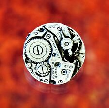 2 Steampunk Watch Gear Pewter Shank Buttons 5/8 Inch (16 mm) #1157