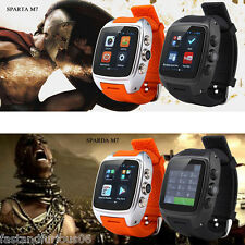 "1.54"" IPS 3G Smart Watch SIM Phone Android Dual core Pedometer GPS 5.0 MP Camera"