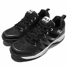 FILA T312Q Black White Grey Mens Tennis Sneakers Shoes Sneakers 1-T312Q-001
