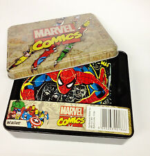 Marvel Comics Spiderman Bifold Billfold Wallet in Tin MV-CC-W