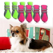 Pet Dog Puppy Boots Water Repellent Anti-Slip Protective Boots Shoes 4 Sizes