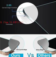 0.15mm 2.5D Premium Tempered Glass Film Guard Screen Protector Cover For iPhone
