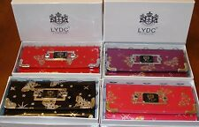 LYDC London Designer Butterfly Clutch/Purse with Gift Box