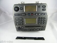 2004 JAGUAR X-TYPE OEM RADIO, CD PLAYER & CLIMATE CONTROL, PHONE, HEATED SEATS