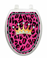 Diva Princess Toilet Tattoo  Removable Reusable Bathroom Decoration