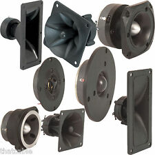 Quality Dynamic Speaker Horns & Hi-Fi Flare Tweeters -PA Voice Dome Replacement