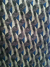 Oscar de la Renta 100% Silk Tie~Made in USA~Purple/Blue/Grey Colors~(#159)