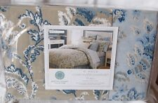 MARTHA STEWART Duvet Comforter Cover Set REGENT PAISLEY Blues Choose size