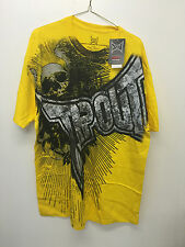 Tap Out TAPOUT UFC, Officially Licensed Yellow Logo Design T Shirt T-Shirt, NWT