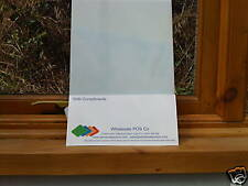 Opal Acrylic Perspex Panel 2mm Thick 296mm x 170mm For Light Box & Signs