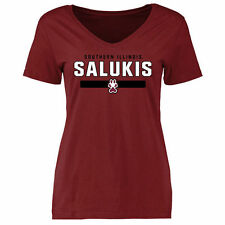 Southern Illinois Salukis Women's Maroon Team Strong Slim Fit T-Shirt