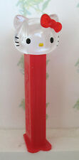 PEZ - Hello Kitty Series - Crystal Kitty with Red Bow  - Choose stem version