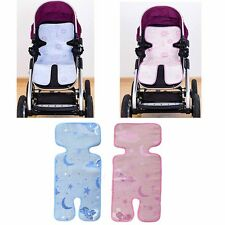 Kids Baby Children Summer Stroller Pram Seat Chair Cool Straw Linen Mat New