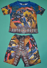 NEW Boys Transformers two piece set Blue sizes 2,3,4,5