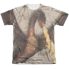 The Hobbit Smaug Attack (Front Back) Mens Sublimation Shirt