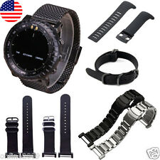 Stainless Steel Quick Release Watch Band Strap+ Lugs Adapters For Suunto Core