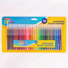 150 x FELT/FINE TIP MARKERS Childrens/Adult Washable Colouring Pens Scrap Book