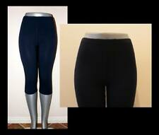 NAVY CAPRIS LEGGINGS STRETCH WORKOUT DANCE S, M, L, XL, 2X, 3X