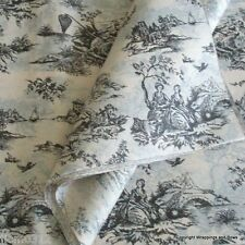 Black Toile Patterned Tissue Paper- Premium Quality Wrap - 5 or 10 sheets