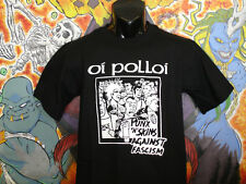"Oi Polloi ""Punks 'n Skins"" shirt Casualties Black Flag Aus Rotten Unseen Punk Oi"