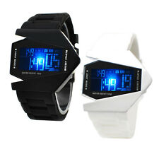 Personality Unique Colorful Silicone Jelly Band LED Digital Sports Watch Unisex