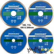 Silverline Tile Cutting Diamond Disc Blade for Angle Grinder & Tile Cutters