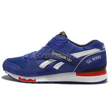 Reebok GL 6000 PP Blue Red Mens Suede Running Shoes Sneakers AQ9751