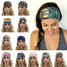 Sports Headband Yoga Women Wide Stretch Hairband Elastic Hair Band Turban CHI