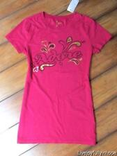 OLD NAVY ~ New NWT ~ XS X Small ~ ADORE Gold Foil VALENTINE Cap Sleeve Tee Shirt