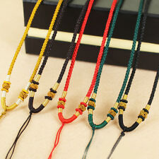1Pcs DIY Necklace Pendant Crystal Pendant Rope Hand-knitted Cord Hand-woven Rope