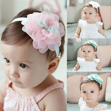 Girl Lace Headwear Flower Kids Baby Toddler Hair Band Headband Accessories CHI