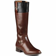 WOMEN'S ARIAT YORK BROWN/BLACK EQUESTRIAN RIDING BOOTS 10005045