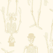 Chillingsworth's Spooky Ride Halloween Fabric Skeletons Premium Cotton