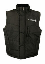 Mens Boys Black Padded Gilet Bodywarmer Jacket Full Zip School Coat All Sizes