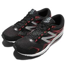 New Balance M590LB5 D Black Red Silver Mens Running Shoes Sneakers M590LB5D