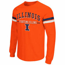 Colosseum Illinois Fighting Illini Orange Huddle Up Long Sleeve T-Shirt