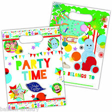 8 Adorable In The Night Garden Children's Party Plastic Gift Treat Loot Bags