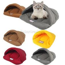 Various Pet Dog Cat Bed Nest House Sleep Bag Mat Kennel Blanket Cushion PICK