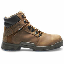 "MEN'S WOLVERINE GRIFFIN 6"" STEEL TOE WORK BOOTS WATERPROOF W10213"