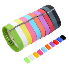10 Colors Small/Large Size Replacement Classic Wristband Band For Fitbit Flex